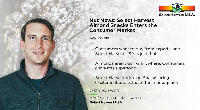 Nut News: Select Harvest Almond Snacks Enters the Consumer Market