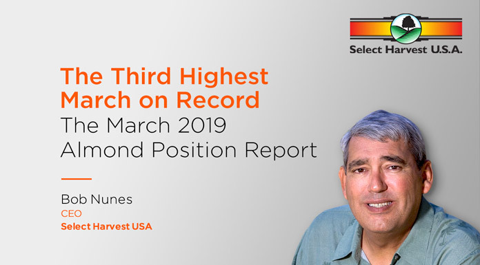 Nut News: The March 2019 Almond Position Report with Select Harvest USA